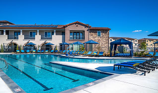 Pool, Campus Oaks Apartments