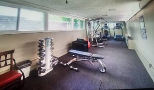 Fitness Weight Room, 321 North Oakhurst Drive