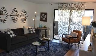 Living Room, River Oaks Condominiums