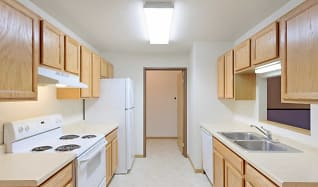 Kitchen, Foxtail Creek Townhomes