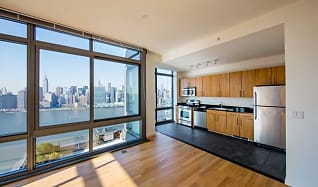 North Building - Two-bedroom kitchen/dining room, Avalon Riverview