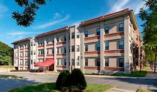 Building, Mill House Apartments