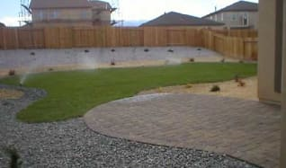 View of patio and backyard., 2324 Clementine Ln