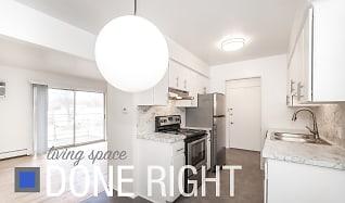 Kitchen, Ivanhoe House Apartments