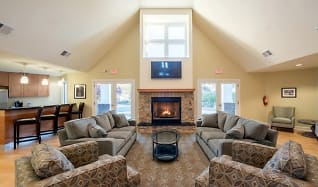 Living Room, The Apartments At Pike Creek