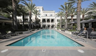 Pool, The Americana at Brand Luxury Apartments