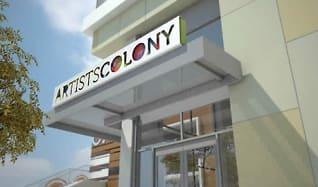 Community Signage, Long Beach Arts Colony