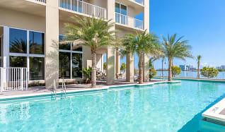 Pool, Shorecrest Club Apartments