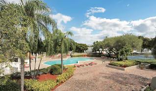 Pool, Biscayne Apartments