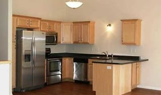 Kitchen, Montgomery Townhomes