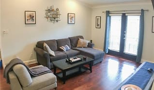 Living Room, 7740 Meadow Road #216