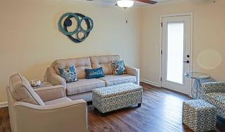 Living Room, Nicholas Place Apartments