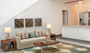 Living Room, Bass Loft Apartments