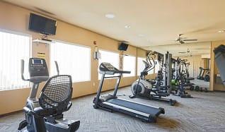 Fitness Weight Room, Raintree Apartments