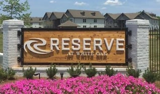 Community Signage, The Reserve at White Oak