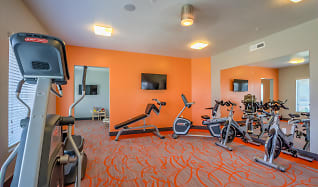 Fitness Weight Room, Boulevard Apartments