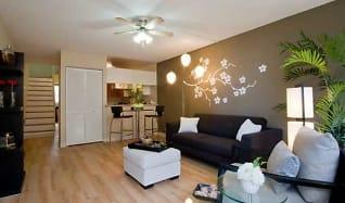 Living Room, Waena Apartments