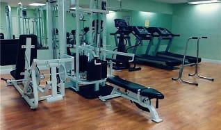 Fitness Weight Room, GARDENS