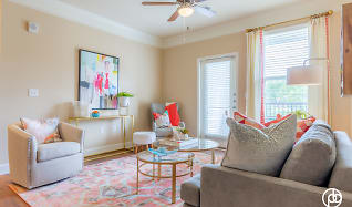 Living Room, The Residences at Bluhawk