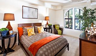 Bedroom, Renaissance Square Apartments