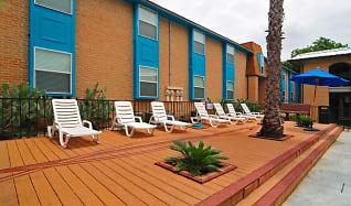 Pool, Iconic Village Apartments