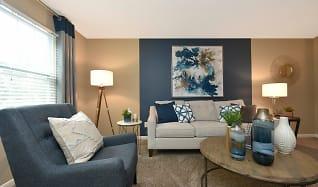 Living Room, Miller Crest Apartments
