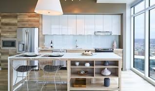 Kitchen, Two Light Luxury Apartments