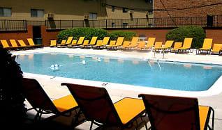 Pool, Highland Terrace Apartments
