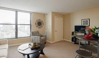 Living Room, Walnut Tower