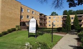 Community Signage, Carol Apartments