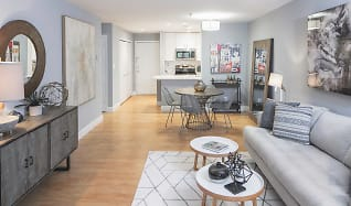 Living Room 2, Rosslyn Heights and Rosslyn Vue