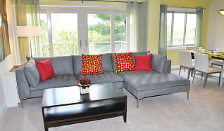 Living Room, Seminary Towers Apartments