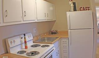 Kitchen, Rockside Place Apartments