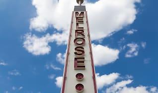 Community Signage, The Melrose