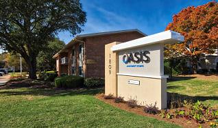 Community Signage, Oasis Apartment Homes