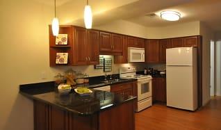 Kitchen, Rose Hall Apartments