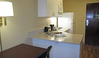 Kitchen, Furnished Studio - San Jose - Santa Clara