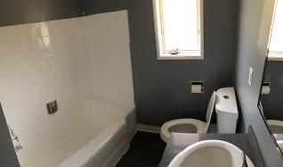 Bathroom, Verdugo Mesa Apartments