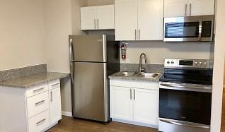 Kitchen, The New Medford Apartments
