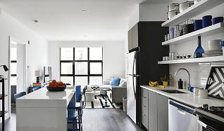 Kitchen, 34 Cambridge St Unit 227