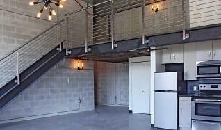 Kitchen, The Warehouse Lofts