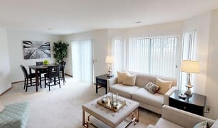 Living Room, Mequon Trail Townhomes