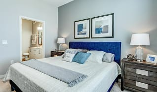 Bedroom, RIZE at Opus Park Apartments