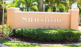 Community Signage, Sunshine Lakes