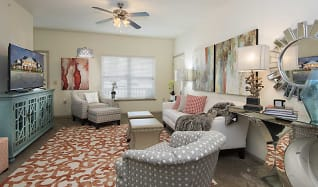 Living Room, The Greens at Longhills