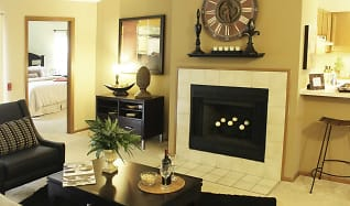Living Room, Plum Tree Apartments