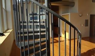 Spiral Staircase, Boston Lofts