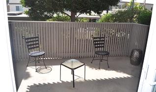 Patio / Deck, 8560 Via Mallorca Unit J