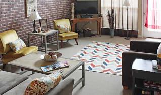 Living Room, The Lofts Morgantown