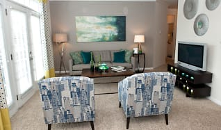 Spacious and open floor plans, Sterling Magnolia Apartments